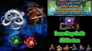 FFBE Lion of the Mysterious Woods Bonus Stage (#576)