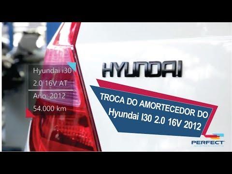 TROCA DO AMORTECEDOR DO Hyundai I30 2.0 16V 2012