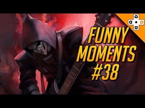 Overwatch Funny Moments #38 - Highlights Montage