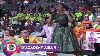 TEGANG !! SOIMAH Cecar ARIF (INDONESIA) Berujung STANDING OVATION Diatas KURSI - DA ASIA 4