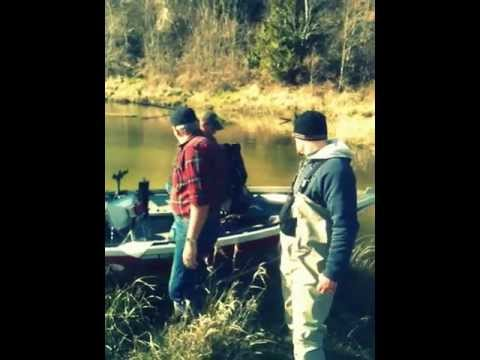 Cowlitz river fishing March 3.2010 part 2