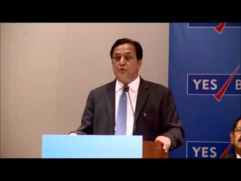 Rana Kapoor speaks at the 12th AGM of YES BANK