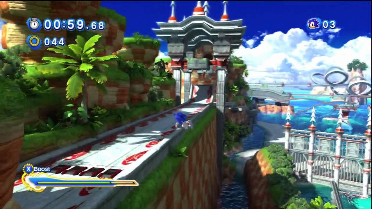 Sonic Generations All Red Star Rings Locations Seaside Hill