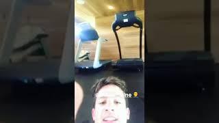 Charlie Puth instagram story 9/9/17 with Adam Levine