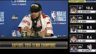 Fred VanVleet Press Conference | NBA Finals Game 6