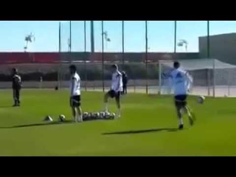 تداريب ريال مدريد  بملعب الحارثي بمراكش