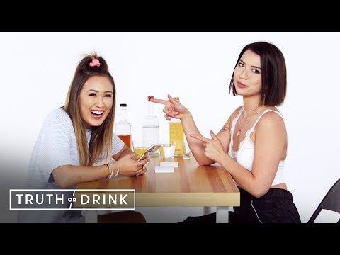 Best Friends Spill the Tea (LaurDIY & Mia Sayoko) | Truth or Drink | Cut