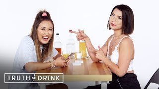 Best Friends Spill the Tea (LaurDIY & Mia Sayoko) | Truth or Drink | Cut