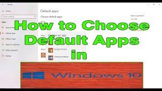 How to Change Default Apps in Windows 10 Video Tutorials