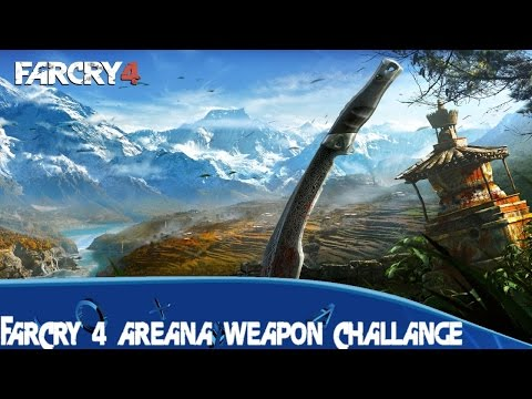 Far Cry 4 Weapon challenge mp34