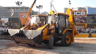JCB Construction Machines Dance