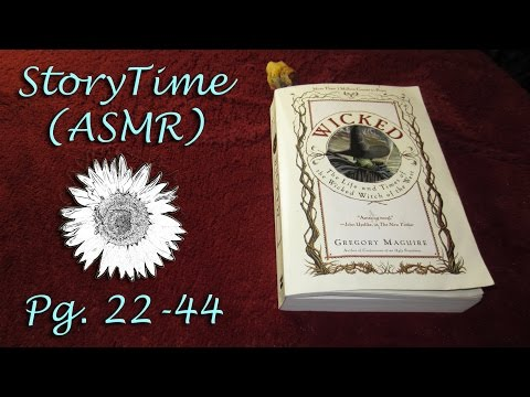 ASMR Story Time ~ Wicked Pg. 22 – 44
