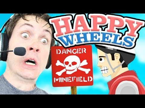 Happy Wheels - MINEFIELD