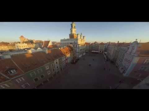 Poznaj Miasto Poznań - 4K - Poznań Z Lotu Ptaka