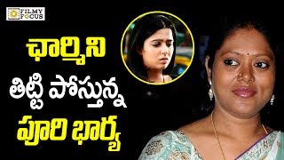 Puri Wife lavanya Fire on Charmi