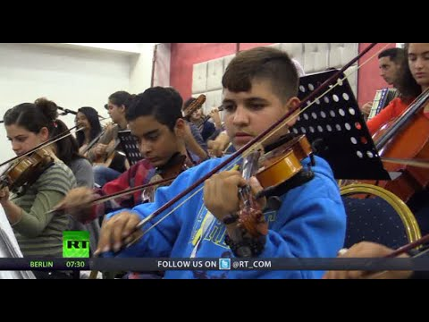 'We Teach Life, Sir': Music amid Mayhem in Gaza (RT Documentary)