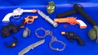 Toy Guns Box of Toys Military Toys Grenade Nunchuks