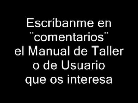 Descarga Manuales de Taller en PDF, Manuales de usuario en PDF
