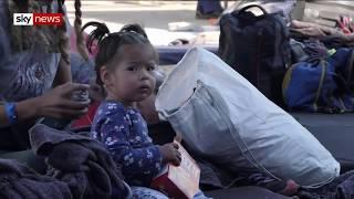 Tijuana border: Violence is the main reason migrant families seek asylum in US