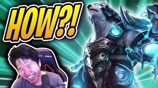 HOW DID RIOT ALLOW THIS?! Volibear is BROKEN! | Teamfight Tactics ft. OfflineTV | TFT