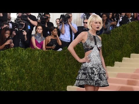 Taylor Swift Ditches Good Girl Vibes and Goes Edgy At The Met Gala