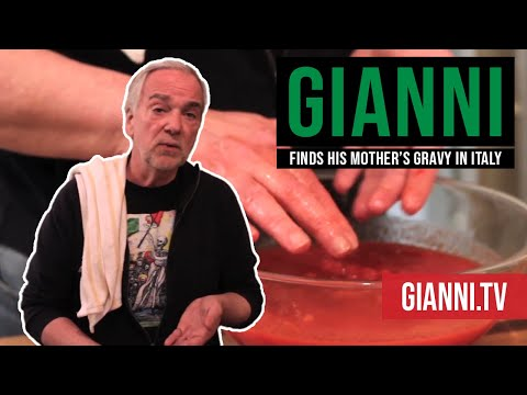 Gianni Finds His Mother's Gravy in Italy