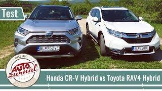 Honda CR-V Hybrid vs Toyota RAV4 Hybrid TEST 2019: Súboj japonských hybridov