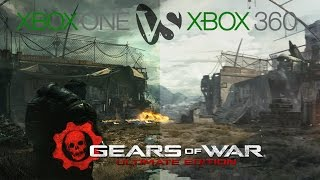 Gears of War Ultimate Edition Xbox One vs Xbox 360 Graphics Comparison BUP HD