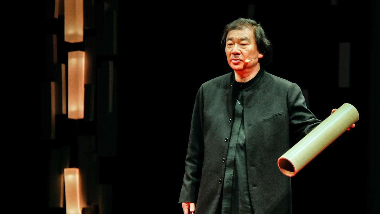 Shigeru Ban: Emergency shelters made from paper - YouTube