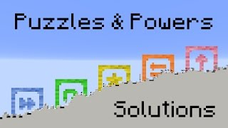 Puzzles & Powers: Solutions