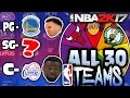SPIN THE WHEEL OF NBA TEAMS & POSITIONS! NBA 2K17 SQUAD BUILDER -