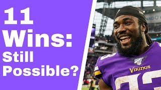Can Vikings still win 11 games? (Purple Daily)