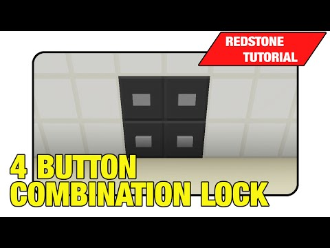 Combination Lock [4 Button]