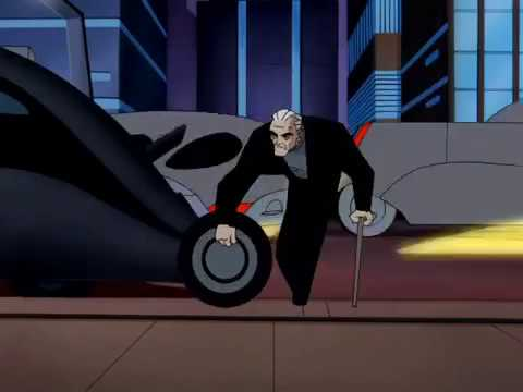 Batman Beyond: Terry saves Bruce