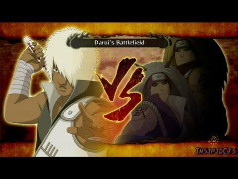 Naruto Ultimate Ninja Storm 3 Darui Vs Ginkaku and Kinkaku (Kakuzu) S-Rank HD (English)