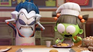 Spookiz | Spookiz Зизи печенье монстра | Мультфильмы для детей | WildBrain