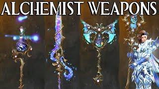 ALCHEMIST Weapon Set | Guild Wars 2