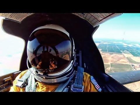 U2 Spy Plane - Cockpit View At 70,000 Feet