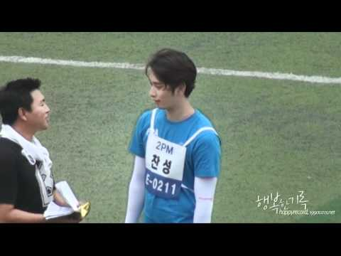 [FANCAM] 120710 MBC Idol Olympics Filming (Chansung focused)
