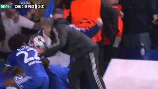Chelsea vs PSG Highlights 08 04 2014 HD (Champions League)