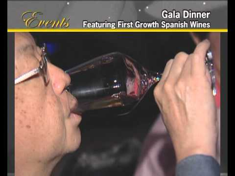 World Gourmet Summit 2008 Gala Dinner featuring First Growth Spanish Wines