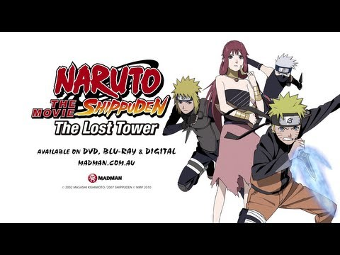 Naruto Shippuden The Movie: The Lost Tower: Official Trailer (available December 2013) video