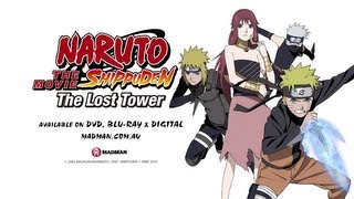 NARUTO SHIPPUDEN THE MOVIE: THE LOST TOWER: Official Trailer (Available December 2013)
