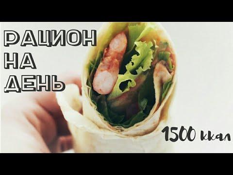 ПП МЕНЮ НА ОДИН ДЕНЬ┃меню на 1500 ккал - Alisa Zaharova