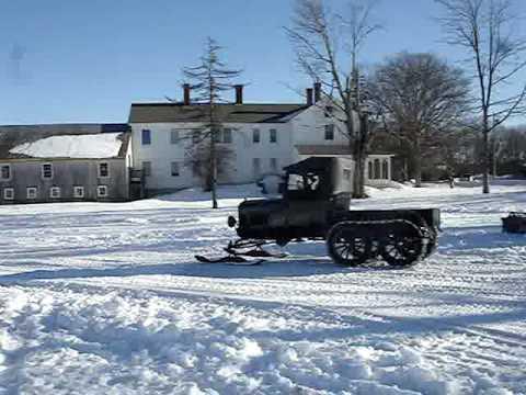 Model t Ford Snowmobile Club