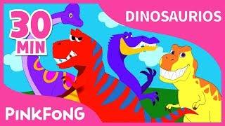 Las Mejores Canciones de Dinosaurios | +Recopilación completa | Pinkfong Canciones Infantiles