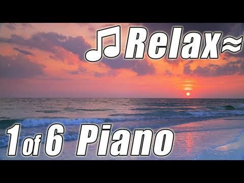 RELAXING PIANO #1 Romantic Music Ocean Instrumental Classical Songs Relax Slow jazz HD video 1080p