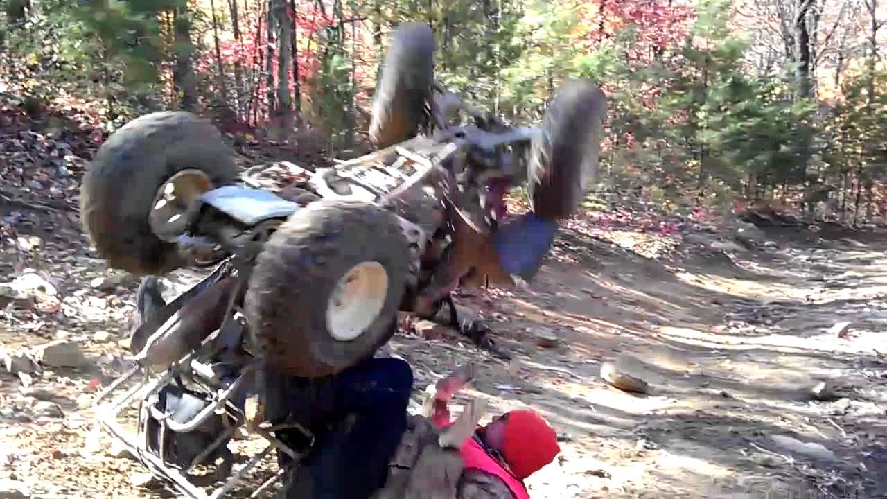 Really Bad Atv Crash Wreck Youtube