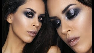 Γυαλιστερό Grunge Smoky Eye | Anti-Valentine's Makeup