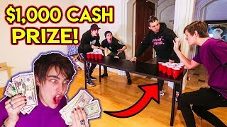 ROOMMATES PLAY MONEY PONG ($1,000 CASH PRIZE)